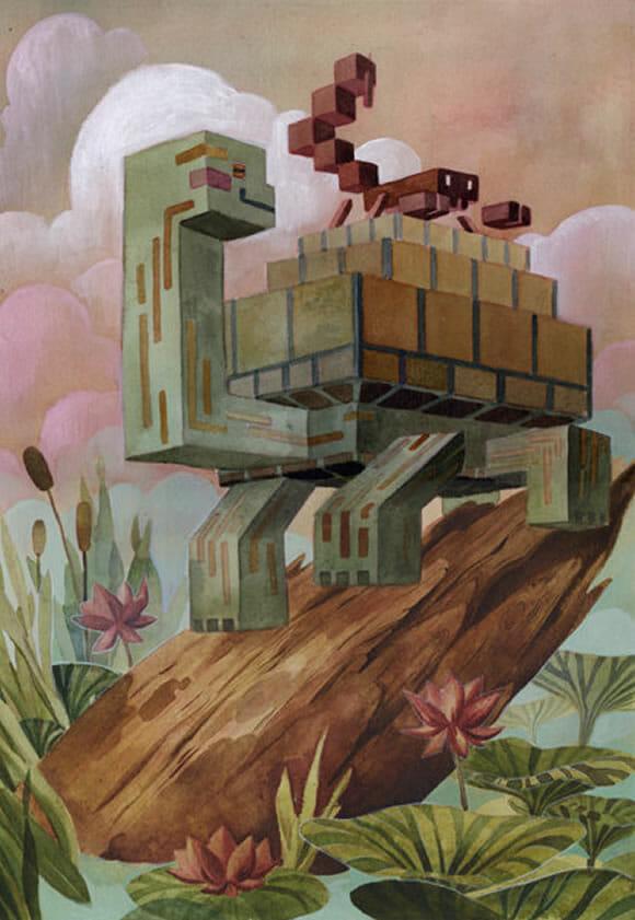 Selva de Pixels.