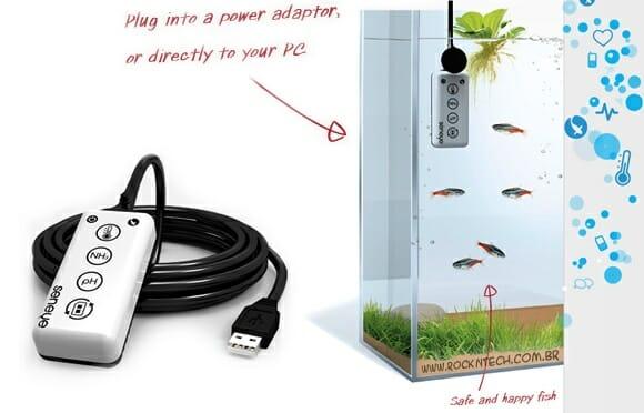 Seneye - Um sistema inteligente de monitoramento de aquários à distância. (vídeo)