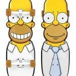Skate do Homer Simpson é rox!