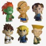 Com vocês: Os bonecos de vinil de Street Fighter 2 colecionáveis!