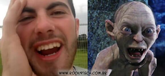 VIDEOFUN- A melhor interpretação do Gollum do Senhor dos Anéis dos últimos tempos!