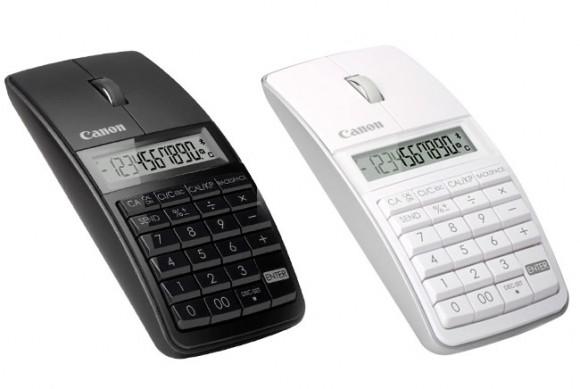 Novo mouse 3 em 1 da Canon funciona também como Teclado numérico e Calculadora.