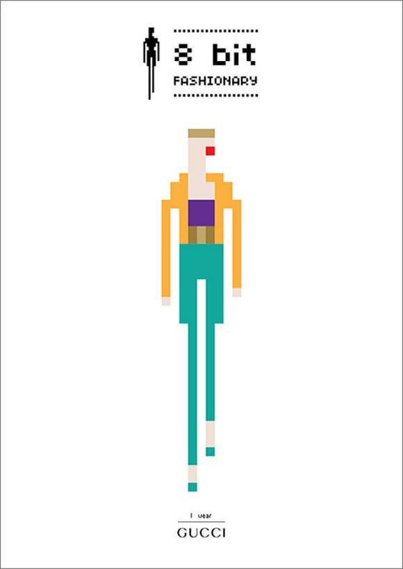 8 Fashionary bit - Porque 8-bits está na moda!