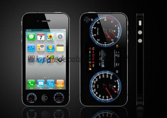 Adesivo deixa seu iPhone com cara de painel de instrumentos de veículos