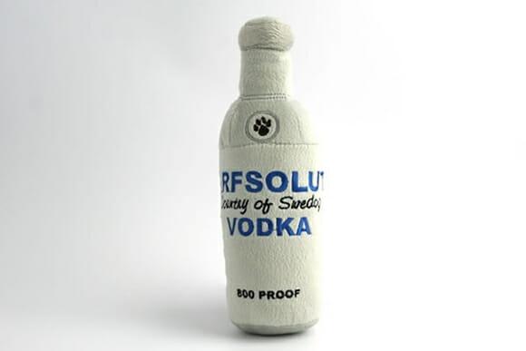 Arfsolut Vodka para os cachorros dos pingaiadas!