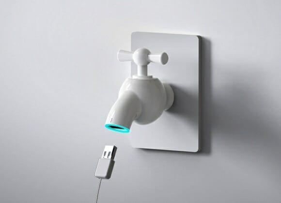 Turbine sua tomada com uma Torneira USB. OH WAIT!!!