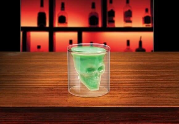 Caveira de Cristal DOOMED - O copo da morte