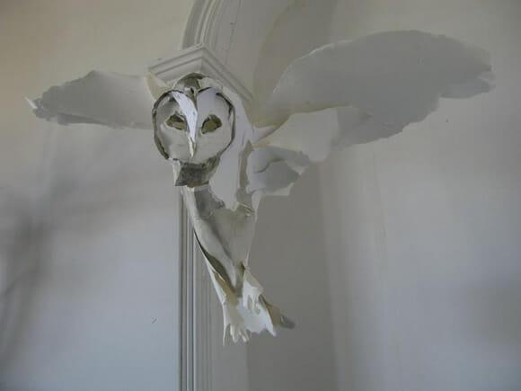 As incríveis esculturas de papel de Anna Wili.