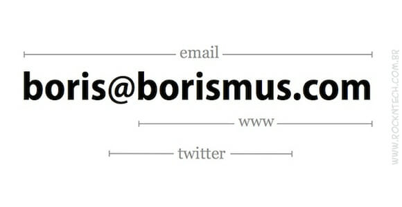 FOTOFUN - Cartão de visita minimalista