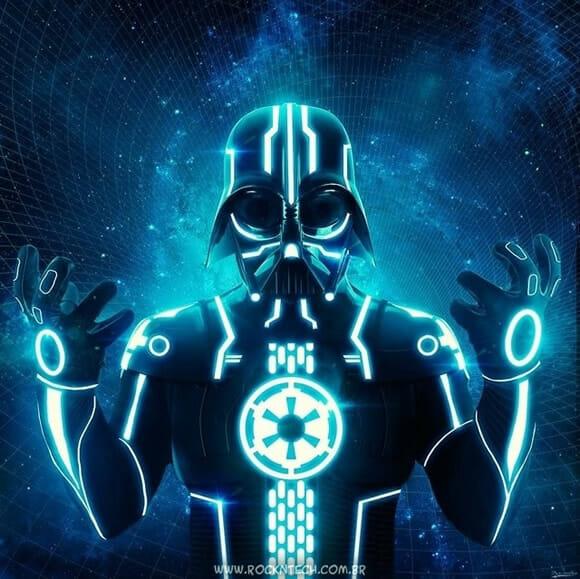 FOTOFUN - Tron Vader.