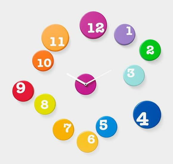 Fun Time Wall Clock - Organize as horas como quiser!