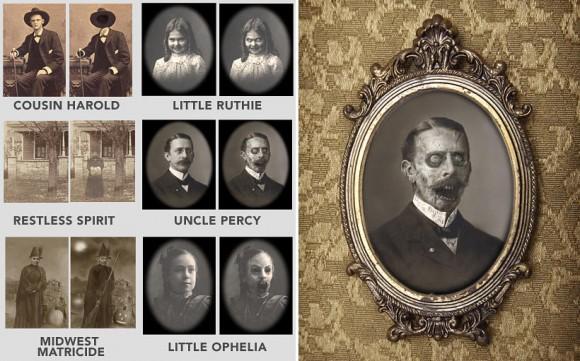 Retratos Haunted Memories - Decore sua sala com retratos macabros que se mexem!