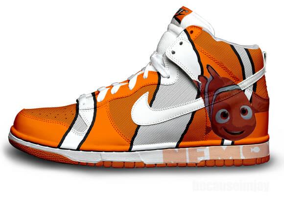 Os Nikes de Jay Angeles.
