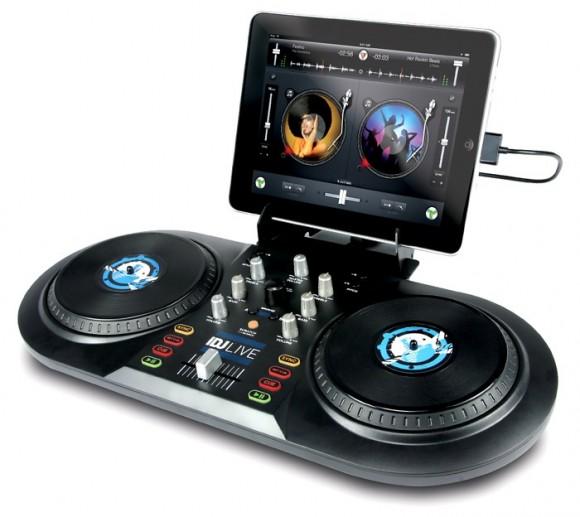 Numark iDJ Live integra uma pickup de DJ em seu iPad, iPhone ou iPod!