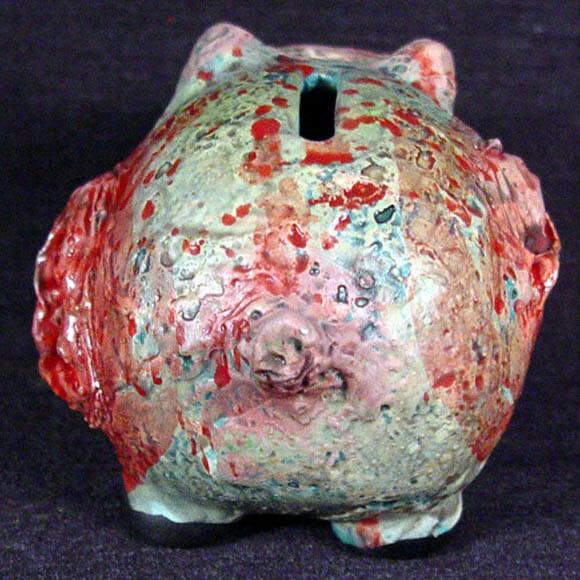 Guarde suas economias em um Porquinho Zumbi!