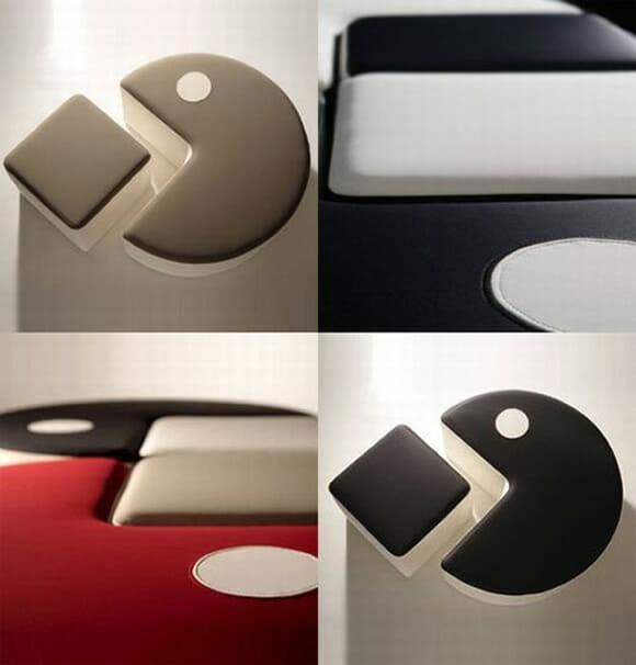 Poufman - O sofá Pac-Man.