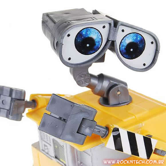 Promoção Wall-E. Ganhe um Action Figure do robozinho de 12 cm!