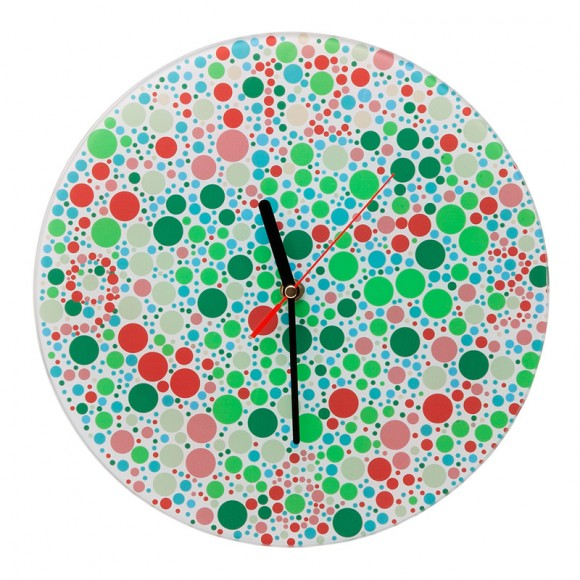 Color Blind Clock - Enxergue as horas se for capaz!