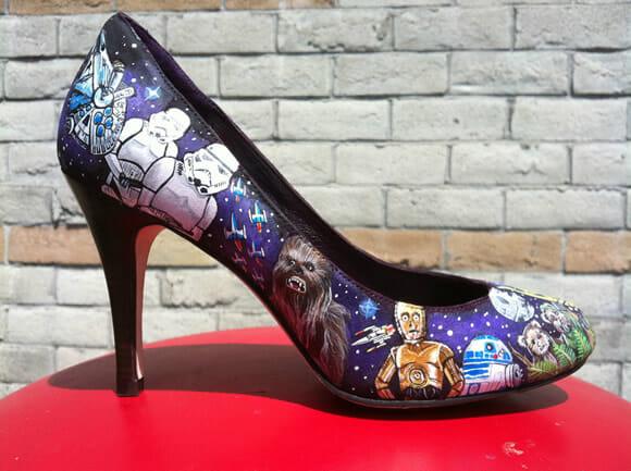 Sapato do Star Wars - Até quem não é geek vai querer!