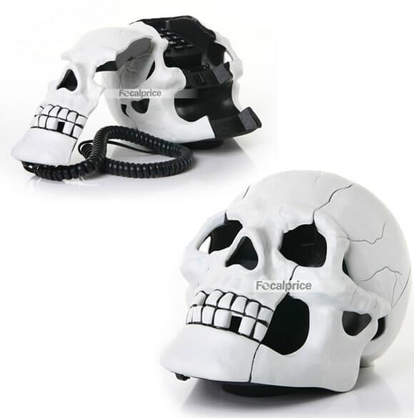 Skull Shape Phone - O telefone Crânio.