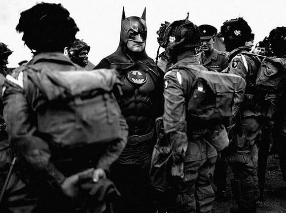 Como seriam cenas históricas reais se os super-heróis ou vilões existissem? Veja 7 cenários