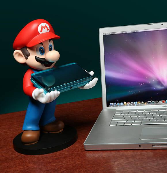 Suporte Super Mario - Deixe o encanador cuidar do seu Nintendo 3DS!