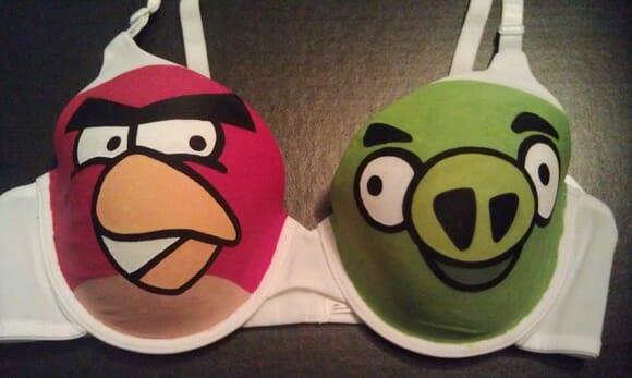 Sutiã Angry Birds