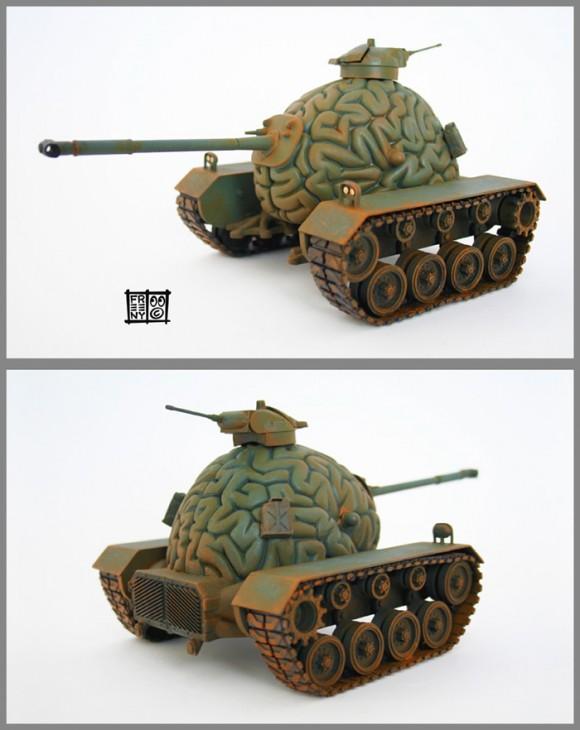 Think Tank - O tanque de guerra pensante.