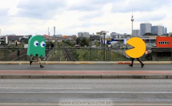VIDEOFUN - Pac-Man invade as ruas da Alemanha!