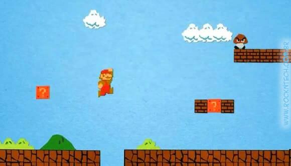 VIDEOFUN - Super Mario Bros Paper Stop Motion.