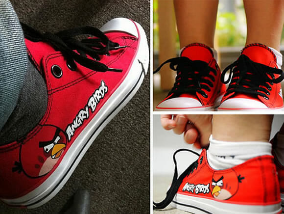 Nova linha de tênis Angry Birds super colorida e divertida! (com vídeo)
