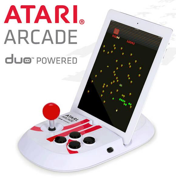 Acessório da Atari transforma o iPad em um fliperama.
