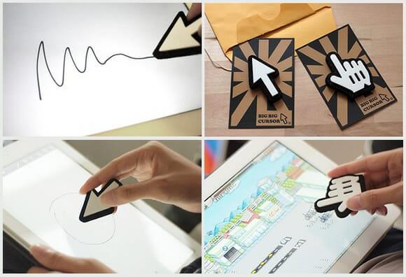 Big Big Cursors - Troque sua caneta stylus por cursores gigantes! (com vídeo)