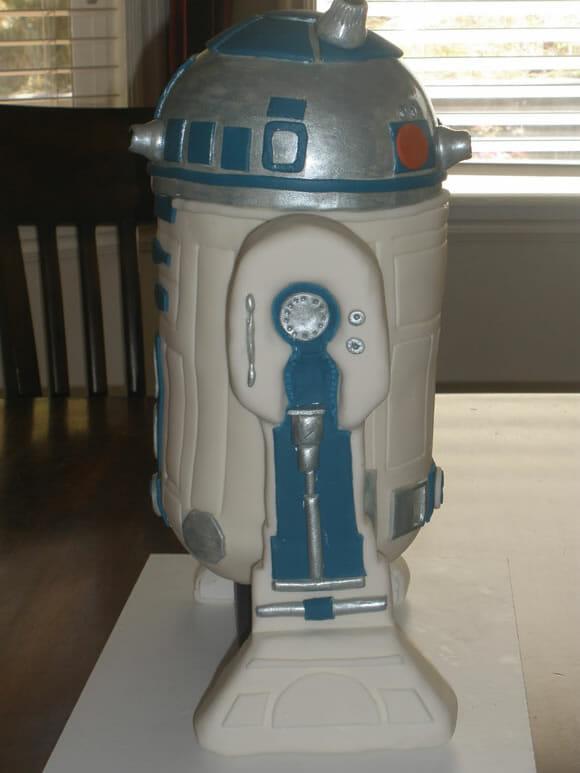 O melhor bolo do R2-D2 de todos os tempos!