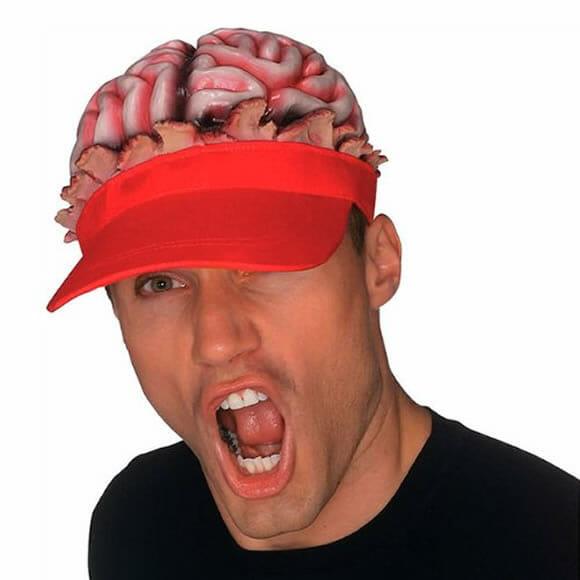 Brain Hat - Um boné para pessoas inteligentes.