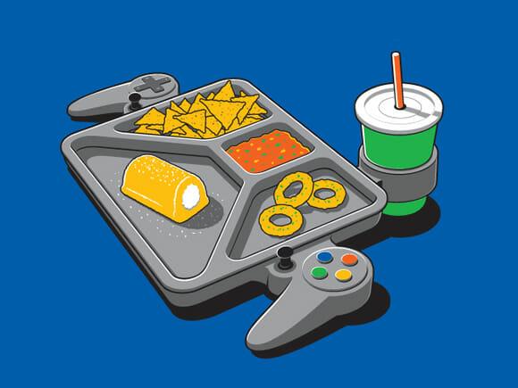 Camiseta Continuous Gaming.