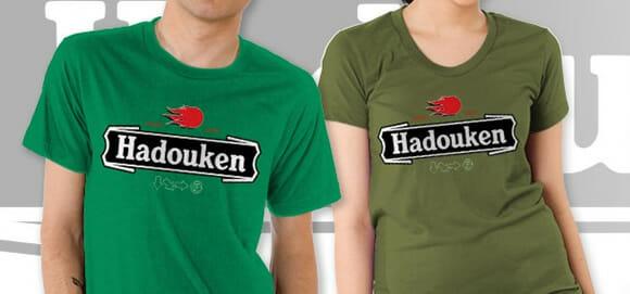 Camiseta Hadouken Lager Beer para geeks cervejeiros!