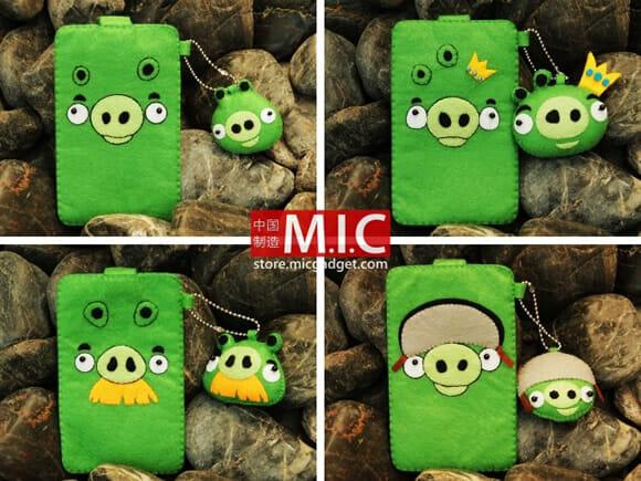 Capas para vestir seu smartphone de Angry Birds!