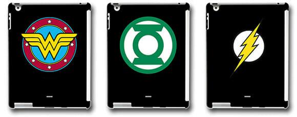Fã de superpoderes? Então você vai adorar os novos cases para iPad 2 de super-heróis!
