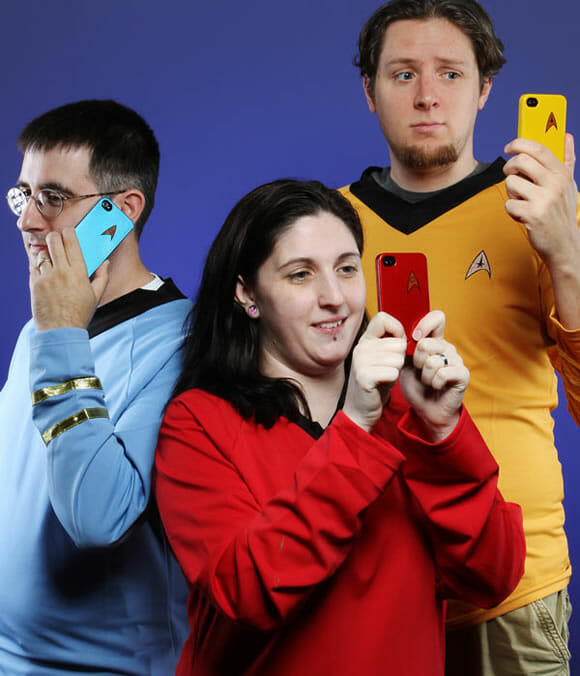 Cases do Star Trek para iPhone 4.