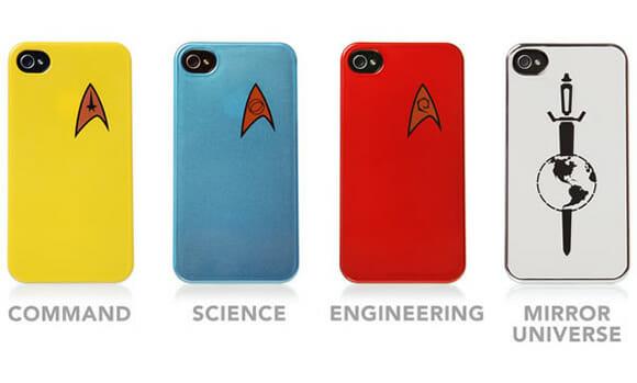 Cases do Star Trek para iPhone 4.