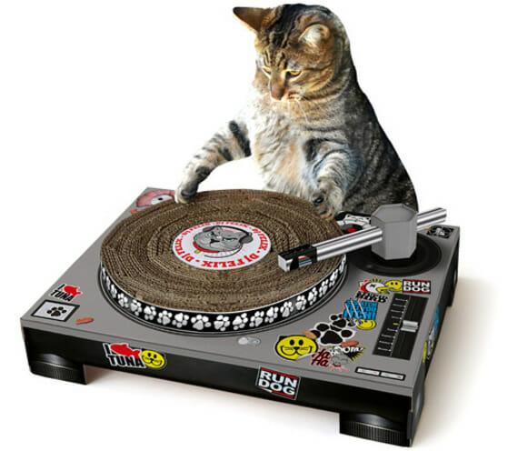Cat Playhouse faz do seu gato um verdadeiro DJ!
