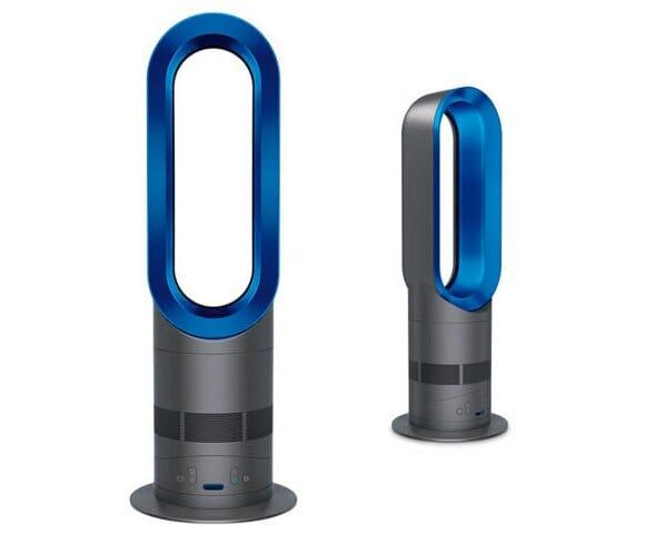 Dyson Hot - Um ventilador sem hélices que também funciona como aquecedor.
