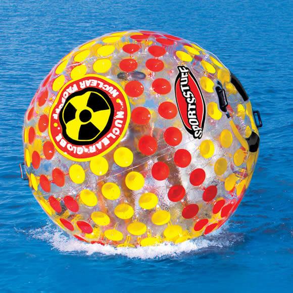 Hydro Sphere - Uma enorme esfera aquática movida a humanos!