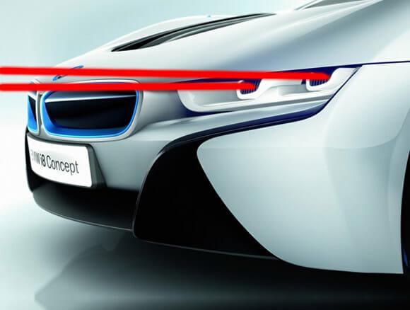 BMW pretende construir em breve carros com faróis a laser.