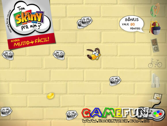 GAMEFUN - Skiny Fuja do Troll!