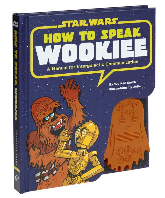 Guia prático ensina viajantes a falar o idioma do Chewbacca do filme Star Wars.
