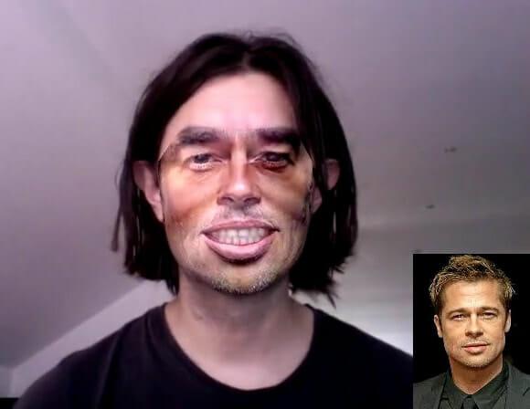 Sistema troca a Face de usuários comuns por Faces de famosos em frente ao PC. (vídeo)