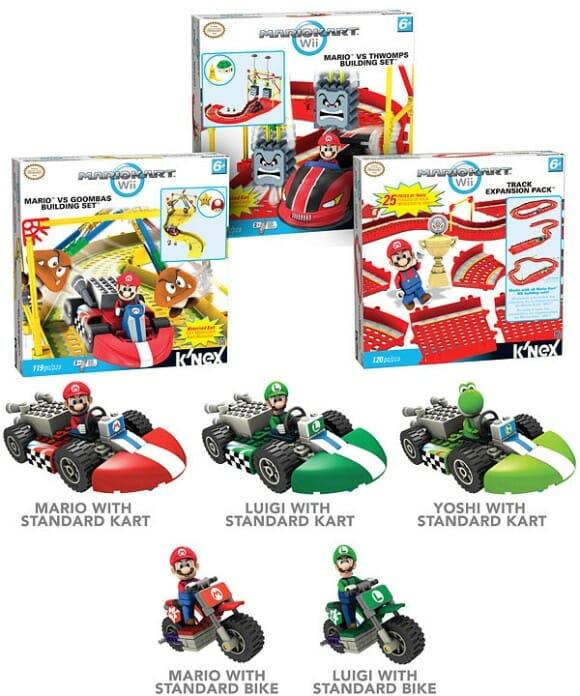 Novos kits montáveis inspirados no game Super Mario Kart do Nintendo Wii. #EUQUERO!