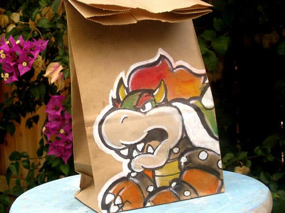 Embalagens descartáveis impossíveis de ser descartadas.